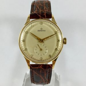 Zenith gold vintage