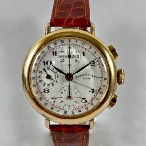 cronografo vermeil vintage